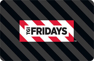 TGI Friday's gift card