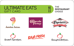 Ultimate Eats gift card